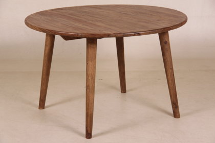 Dining table, round dining table
